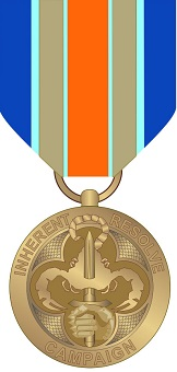 Procedures and Wear of the INHERENT RESOLVE Campaign Medal